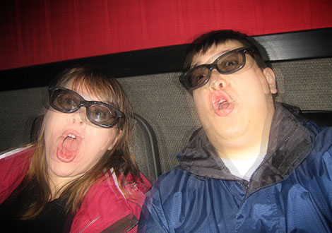 Us watching Avatar in 3D