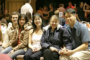 Darren, Jordi, Thuy, Jennilyn, and David